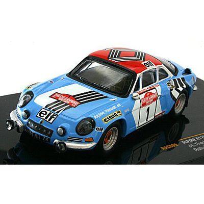 アルピーヌ A110 1800 No1 1973 ラリー・サンレモ (1/43 イクソRAC099)