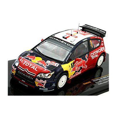 シトロエン C4 WRC (RED BULL) No1 2008 ラリー・ジャパン (1/43 イクソRAM343)