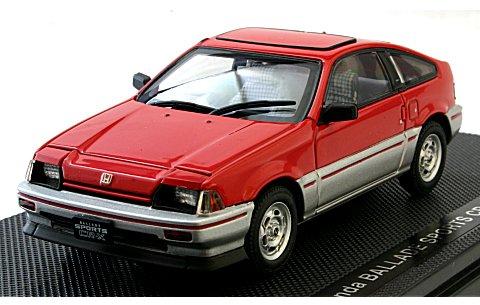 ホンダ CR-X 1983 レッド (1/43 エブロ44114)