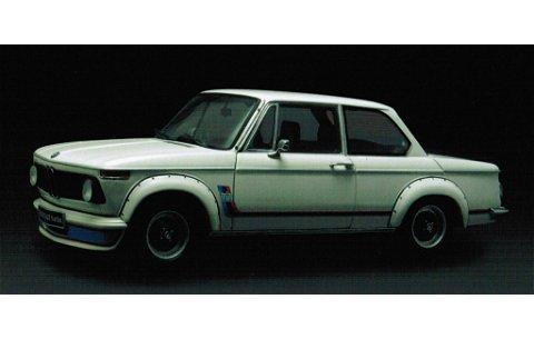 BMW 2002 ターボ 後期型 ホワイト (1/18 京商K08542W)