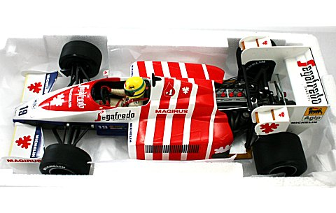トールマン ハート TG 184 ポルトガルGP 1984 A・セナ(エンジン付) (1/18 ミニチャンプス540841889� title=