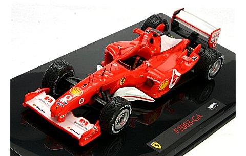 フェラーリ F2003 GA M・シューマッハ (エリートシリーズ) (1/43 マテルMT9944P)