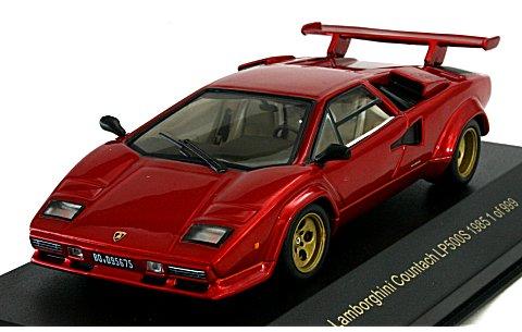 ランボルギーニ カウンタック LP500S 1985 Mレッド (1/43 ポストホビーPS004)