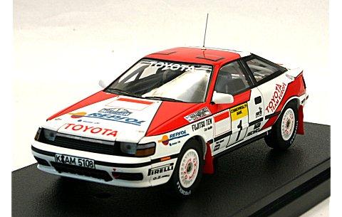 トヨタ セリカ GT-Four No1 1989 オーストラリアラリー (1/43 hpiレーシング8084)
