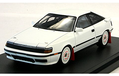 トヨタ セリカ GT-Four ホワイト (1/43 hpiレーシング8132)