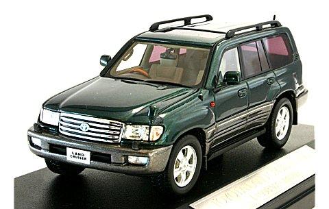 トヨタ ランドクルーザー 100 1998 ダークグリーンマイカ (1/43 ハイストーリーHS021GR)