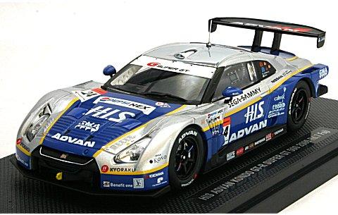 HIS コンドー GT-R スーパーGT500 2009 第7戦 Fuji (1/43 エブロ44234)� title=