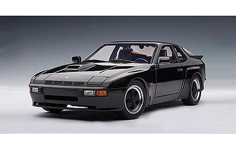 ポルシェ 924 カレラ 1980 ブラック (1/18 オートアート78001)