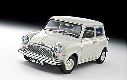 モーリス ミニ MINOR 1959 ホワイト (1/18 京商K08105W)