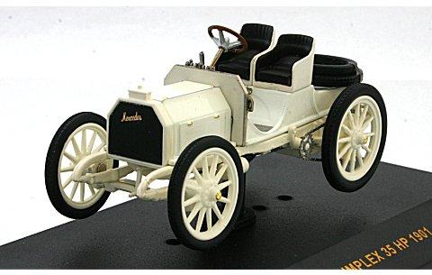 メルセデス シンプレックス 35HP 1901 オフホワイト (1/43 イクソMUS027)