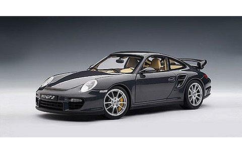 ポルシェ 911 (997) GT2 ダークグレー (1/18 オートアート77899)� title=