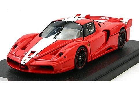 フェラーリ FXX レッド/ホワイトストライプ (1/43 京商&MRK04111R)