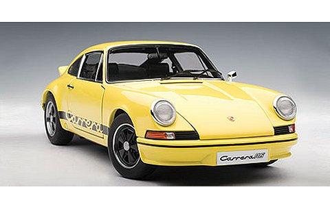 ポルシェ 911 カレラ RS 2.7 1973 イエロー/ブラック (1/18 オートアート78053)