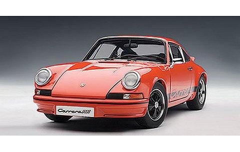 ポルシェ 911 カレラ RS 2.7 1973 オレンジ/ブラック (1/18 オートアート78054)