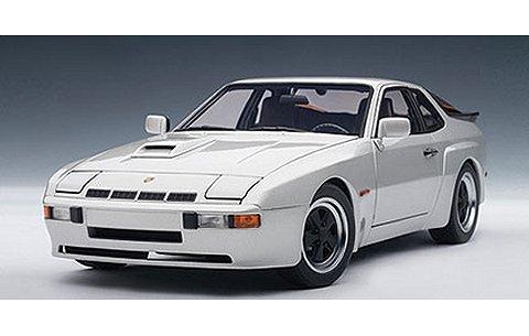 ポルシェ 924 カレラ 1980 シルバー (1/18 オートアート78002)