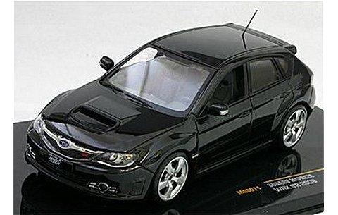 スバル インプレッサ WRX STI 2008 ブラックパール (1/43 イクソMOC071)