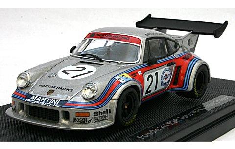ポルシェ 911 RSRターボ ルマン 1974 No21 (1/43 エブロ44307)