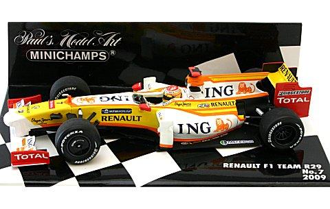 ING ルノー F1チーム R29 No7 2009 (1/43 ミニチャンプス400090007)