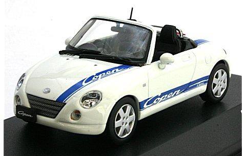 ダイハツ コペン With Sporty Logo ホワイト (1/43 JコレクションJC30082WB)