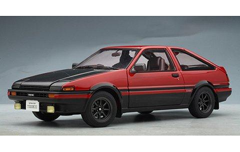トヨタ スプリンター トレノ (AE86) 『スペシャル チューンド バージョン』 レッド/ブラック (1/18 オートアート78795)