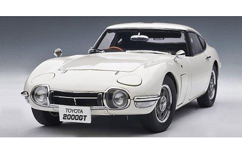 トヨタ 2000 GT ホワイト アップグレードバージョン (1/18 オートアート78747)