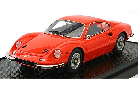 フェラーリ ディノ 246GT 1969 ディノレッド (1/43 BBR BBRC15E)