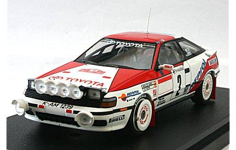 トヨタ セリカ GT-Four No2 1991モンテカルロ (1/43 hpiレーシング8089)