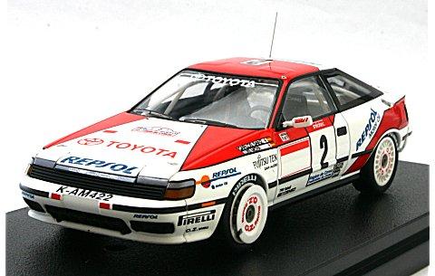トヨタ セリカ GT-Four No2 1991 ツール・ド・コルス (1/43 hpiレーシング8088)