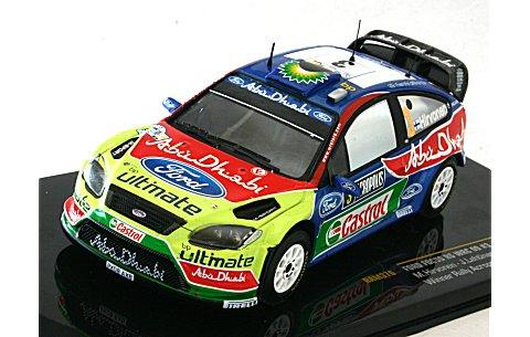 フォード フォーカス RS WRC 2009 アクロポリスラリー優勝 No3 (1/43 イクソRAM376)