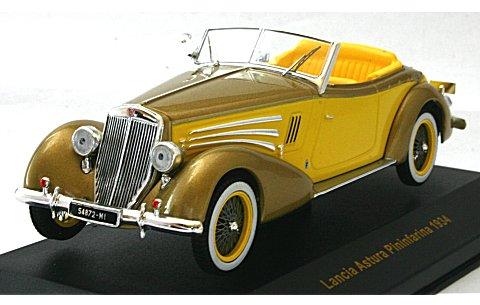 ランチア アストゥーラ ピニンファリーナ 1934 イエロー/ツートン (1/43 イクソMUS029)