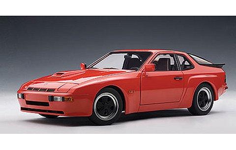 ポルシェ 924 カレラ 1980 レッド (1/18 オートアート78003)