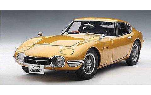 トヨタ 2000 GT ゴールド アップグレードバージョン (1/18 オートアート78749)