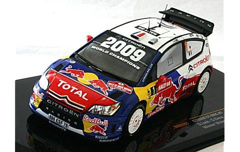 シトロエン C4 WRC 2009 ラリーGB 優勝 No1 (1/43 イクソRAM401)