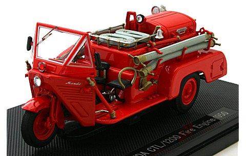 マツダ CTL/1200 ファイアーエンジン 1950 レッド (1/43 エブロ44111)