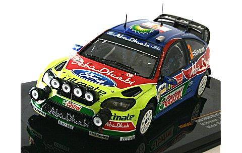 フォード フォーカス RS 07 WRC No3 2008 ラリージャパン優勝 (1/43 イクソRAM342)
