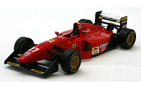 フェラーリ 412T1B No28 G・ベルガー ウイナー ドイツGP ホッケンハイム 1994 (1/43 イクソSF22/94)