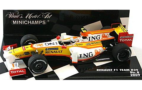 ING ルノー F1チーム R29 No8 2009 (1/43 ミニチャンプス400090008)