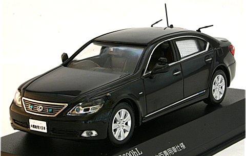 レクサス LS600hL 2008 日本国内閣府内閣総理大臣専用車 (1/43 レイズH7430806)