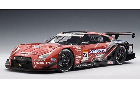 ニッサン GT-R スーパーGT 2008 「ザナヴィ ニスモ GT-R」No23 (1/18 オートアート80876)
