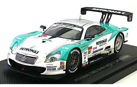 ペトロナス トムス SC430 スーパーGT500 2009 チャンピオン No36 (1/43 エブロ44277)