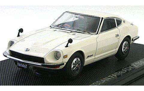 ニッサン フェアレディ Z S30 ホワイト (1/43 エブロ44001)
