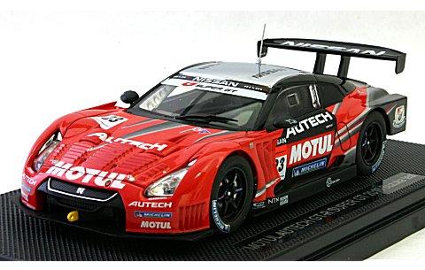 モチュール オーテック GT-R スーパーGT500 2010 鈴鹿テスト No23 (1/43 エブロ44315)