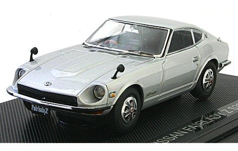 ニッサン フェアレディ Z S30 シルバー (1/43 エブロ43896)