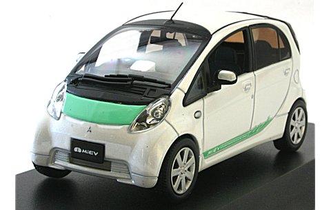 三菱 I-MiEV production version ホワイトパ−ル (1/43 JコレクションJC59001WG)