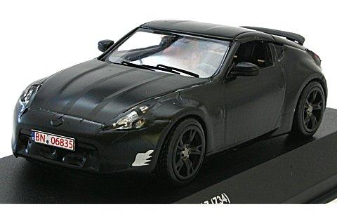 ニッサン フェアレディ Z (Z34) ニュルブルクリング テストカー ブラック (1/43 京商JCK03303NU)