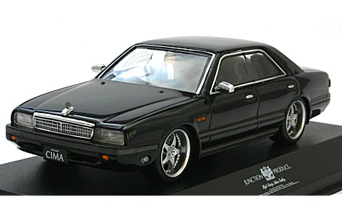 ニッサン シーマ FY31 ブラック NEW SCARA JAPAN仕様 (1/43 京商K03709JPK)