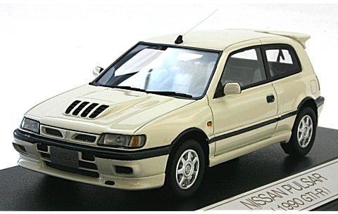 ニッサン パルサー 1990 GTI-R マーブルホワイト (1/43 ハイストーリーHS031WH)