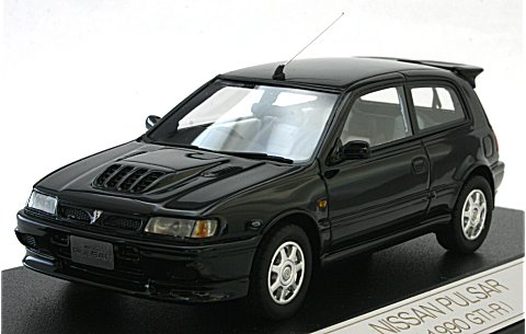 ニッサン パルサー 1990 GTI-R スーパーブラック (1/43 ハイストーリーHS031BK)
