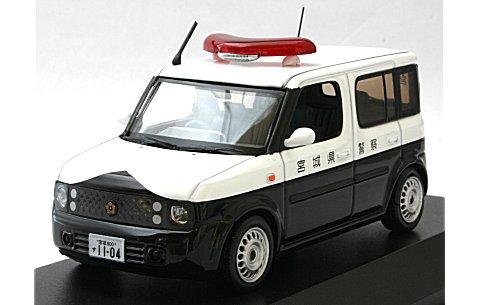 ニッサン キューブ 1.5 2005 宮城県警察所轄署警ら車両 (1/43 レイズH7430502)