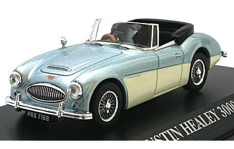 オースチン ヒーレー 3000 Mk3 1964 Mブルー/アイボリー (1/43 ノレブ070011)